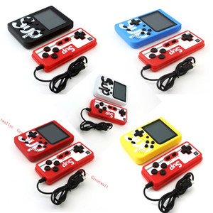SUP Mini Duplas Handheld Game Console Retro Game Console portátil de vídeo com 400 Games 8 Bit 3,0 polegadas colorido display LCD