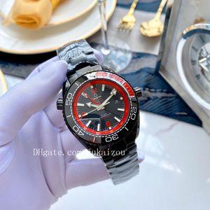 high quality james bond 007 watches planet ocean GMT Wristwatch aqua terra sea master watchesseamaster00 mens watch D4070