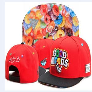 Cayler Sons Red GOOD MOODS Baseball Caps Brand new Hip-Hop-Sport Sonne gorras casquette Männer Visier Golf-Hüte