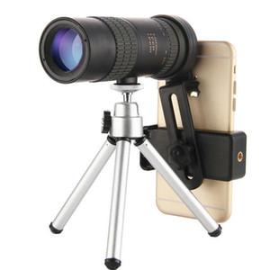 10-30x30 Zoom monocular Telefone Portátil Mini Telescópio Baka-4 Prism Pássaro Outdoor Film FMC Verde Vigiar com phon móvel