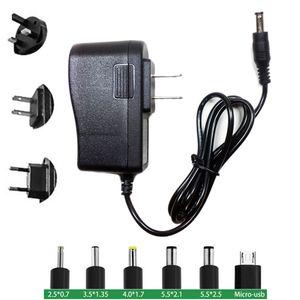 Adaptador AC Fonte de Alimentação 6 V 1A Carregador de Parede DC Adaptador 1 M 2 M EUA EUA Plug UE Carregador