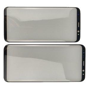 Dış Cam Lens Samsung Galaxy S8 S8 Artı kenar Not 8 Not 9 LCD Ön Dokunmatik Ekran Paneli Değiştirme