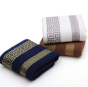 Hand Face Sheet Взрослые мужчины женщины базовые полотенца мягкие хлопчатобумажные банные полотенца пляжное полотенце для взрослых абсорбент 140 * 70 см ван
