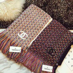 luxury- 190x65CM Knitting Wool Plaid Mens scarf Men Scarves Winter Women Shawl Womens Ring Poncho SCAFA27