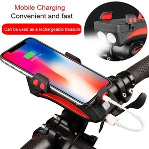 Holder 3 in 1 Multi-Finishing Bicycle Headlight LED Cycling Speaker Phone Holder ABS 2019 Autumn New Leisure fashion