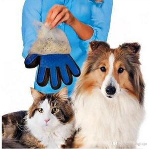 New Arrival Pet Bathing Supplies Massage Gloves Brush Silica gel Brush Gloves Remove Hair and Dirt Washing Tool Dog Grooming