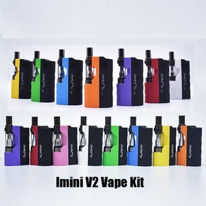 Authentic Imini V1 V2 Icarts Kit de inicio 650/500 mAh Batería precalentador Mod para I1 Thick Oil Vape Cartridge Vaporizer Atomizer 100% original