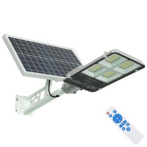 Umlight1688 solaire LED Street Garden Lumière 200W 300W Lampe énergie solaire alimenté par batterie LED lumière solaire extérieure