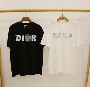 High Quality D Printed Luxury Tshirt Brand Mens Designer T Shirt Women Short Sleeve Casual Men Clothing Streetwear Designer Tees 20042001L