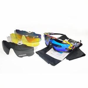 occhiali da sole di marca polarizzato migliore qualità Mountain Bike Occhiali ciclismo Occhiali da sole di riciclaggio della bicicletta i vetri esterni di moda lo sport