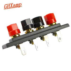 Elektronik GHXAMP Hoparlör Amplifikatör Şasi Terminali Çıktı dört pozisyonu Terminali SoundBox Speaker ses aksesuarlar Altın wirin onsumer ...