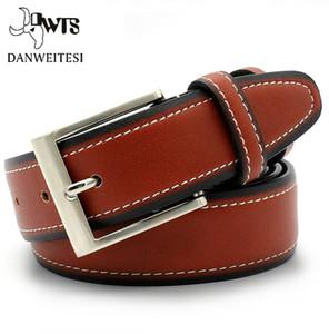 Cinturón Cinturones diseñador de los hombres de alta calidad de cuero de los hombres Cinturones Cummerbunds masculino de la correa de cuero auténtico