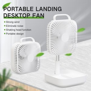 R-just Office Table Electric Fan Summer Cool Floor Fan Outdoor Portable Bring Built-in 10000mAh Power 15 hours Battery life
