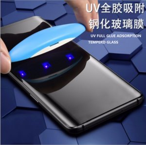 UV Tempered Glass for Samsung Galaxy S9 S10 S8 Plus NOTE 10 UV Liquid Full Glue 3D Curved Screen Protecto FREE SHIPPINGr