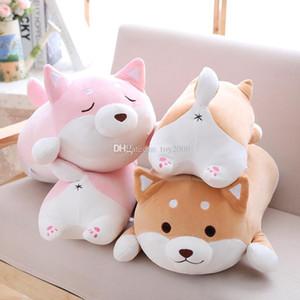 40cm 귀여운 지방 Shiba Inu 개 봉제 인형 부드러운 Kawaii 동물 만화 베개 어린이를위한 사랑스러운 선물 아기 어린이 좋은 품질