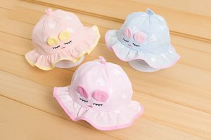 High quality 100% cotton Cute baby bucket hat Cartoon baby hat Wholesale hat for boys and girls