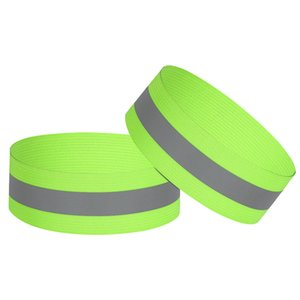 High Visibility Reflective Night Running Walking Elastic Strap Wristbands Ankle Bands Armbands Safety for Running Cycling Walking