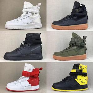 Специальное поле SF Forces Mid High Top Баскетбол обувь Air кроссовки Полезность 1 Один Skate сапоги AF1s для мужчин женщин атлетических тренеров