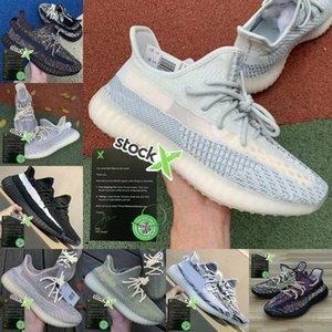 Ucuz Toprak Kanye West Kuyruk Işık Desert Marsh Keten Yeshaya V2 Erkekler Spor Ayakkabıları Yecheil Landmark Siyah Statik Yansıtıcı 2,0 Kadınlar Sneaker