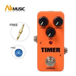 KOKKO FDD2 temporizador de retardo portátil Mini guitarra pedal de efectos Con Conector recto