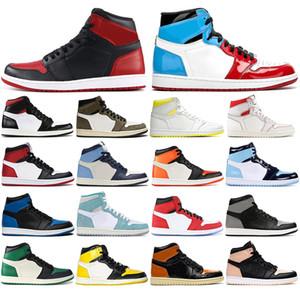 С помощью бесплатных носков 1 High Баскетбол обувь Чествование в HOME GYM RED TOP Чикаго 3 Lakers 1S Sports кроссовки размер 36-46