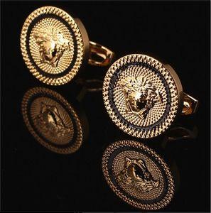 20 Stil Moda Erkekler Kol Düğmeleri Fransız Gömlek Kol Düğmeleri Düğün Baba Damat Groomsmen Kol Düğmeleri Süsler Kutusu Ile Hediyeler