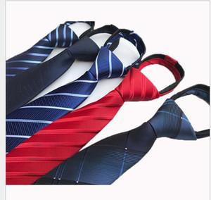 Zipper Krawatte Jacquard-Gewebe Freizeit Streifen Hochzeit rot ZIPPER TIE