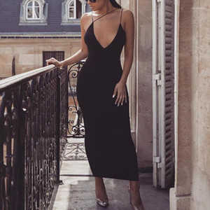 Женские Дизайнерские Летние Платья Sexy Hip Backless Женский Ночной Клуб Стиль Fshion Повседневная Одежда Ремень V Образным Вырезом