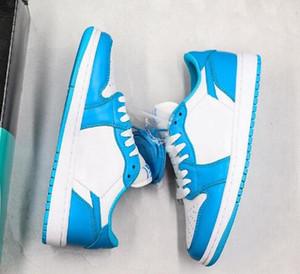 2019 Nouveau SB Dunk x UNC 1 Basse Eric Koston Chaussures de skateboard 1s Designer Limited Edtion Hommes Femmes Sport Sneakers Trainer