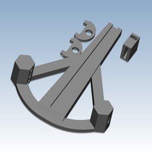 Bambus Armbrust Gewohnheit, um eine hohe Qualität hochpräzisen digitalen Modelle 3D-Druck-Service Lustige Spielzeug ST6048