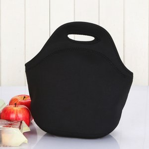 Lunch Box Outdoor Diving Fabric Material Picnic Bag Neoprene Easy Carrying Soft And Light Weight Picnic Food Beverage Tote Bag