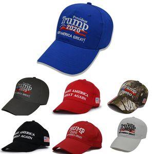 Smoldernew chegada Trump 2020 boné de beisebol América Casual Cotton Hip Hop Hats Caps chapéus, lenços luvas bordado cabido Snapback Ca # 53