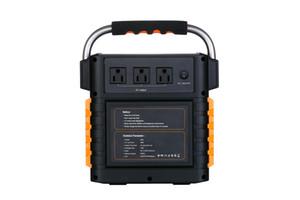 386Wh Battery Capacity 1W * 3 LED portátil Power Station Camping Para Casa Interrupção furacão Outdoor Emergência AC 110V 220V