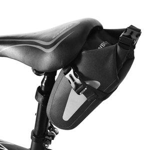 안장 Bicicleta 자전거 방수 스토리지 좌석 가방 파우치 사이클링 테일 리어 안장 가방 Seatpost Bolsa outdoor 자전거 접근 자 LMPGW
