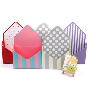 Flower Box Экологичный белый картон Конверт Складные Цветы Роза Мыло Цветок Подарочная коробка Упаковка Рождество коробки EEA1667