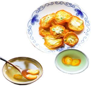 Kumquat secado té de las rebanadas de fruta té abrir el apetito chino especial de té verde Cuidado de la Salud Alimentos a Granel