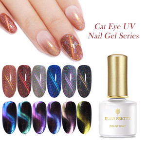 BORN PRETTY Cat Eye Magic Chameleon UV Gel Varnish Nail Art Manicure Galaxy Starry Magnetic Lacquer Multicolor Nail Gel Polish