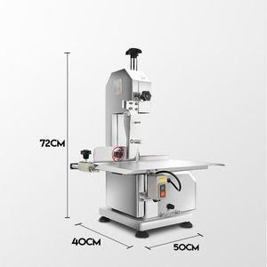 Gewerbe Fleischschneider Maschine Säge Knochen Maschine elektrisches 220v Desktop Knochenschneidemaschine Einfrieren Fisch Schneiden