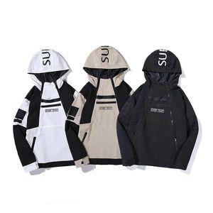 Designer Mens Jackets Luxury Windbreaker Coat Autumn Special Zipper Men Brand Hoodie Jacket Windproof 19ss Clothes Size M-2XL