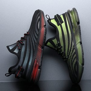 Sportswear shoes Men summer autumn new air cushion shockproof breathable running shoes comfortable wear-resistant damp shoes