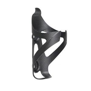 no logo del carbonio della bicicletta della bottiglia di acqua della gabbia bici di montagna in bicicletta del supporto della bottiglia in fibra di carbonio pieno materiale ultraleggero lucido