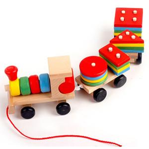 Early Learning Toy Grupo de Educação Crianças instalada plástico desmontagem do carro de trem crianças brinquedos para as crianças Brinquedos Y200704