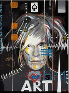 el arte de Andy Warhol, Jean Michel Basquiat Pop Decoración pintado a mano de la impresión de HD pintura al óleo sobre lienzo arte de la pared de la lona representa 200130