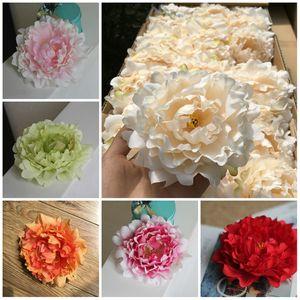 Decoração de casas Flores Artificiais Flores De Seda Cabeças de flores de Seda Decoração de casamentos artigos de simulação Cabeças de flores falsas T10I0015