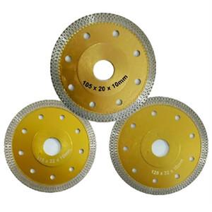 Porcelain-Saw-Blade Circular-Disco de corte Disco de diamante 115 milímetros -Stone / 125 milímetros X-forma concreta Marble Porcellanato