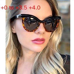 Brand Designer Fashion Cat Bifocal Sunglasses Reader Women Gradient Lens Sun Reading Glasses Retro Multifocal Magnifying NX