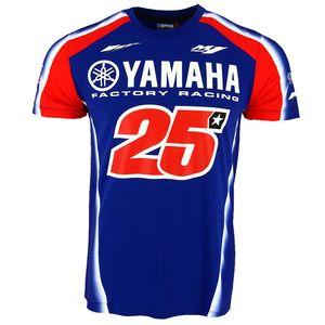 2019MEW سباق الدراجات النارية موتوكروس موتو gp ركوب ملابس الرجال ملابس قصيرة الأكمام الملابس القيادة ياماها m1 تي شيرت 001