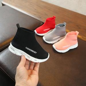 Casual Kinder \ 's Schuhe Neue Kinderschuhe Modische LED-Licht Nettobreathable Kinder \' s Sneakers Soft-Sport-Walking-Schuhe