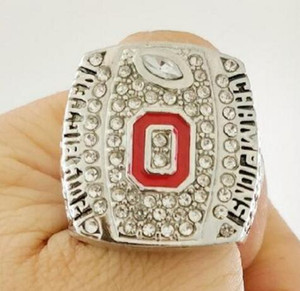 Fine high quality 2014-2015 Big Ten Ohio State Buckeyes College championship rings football ring as best gift for men