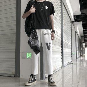 19fw neue Luxusmarke Design Rauch Teufel vlon Männer Frauen Mode Sport Jogger Jogginghose Outdoorhose